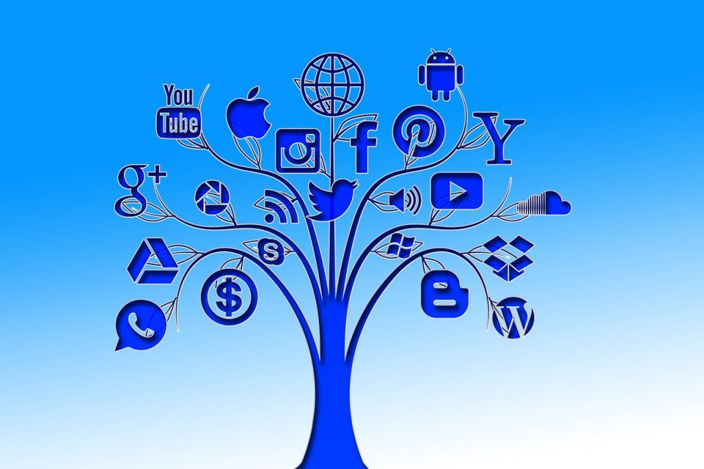 Online marketing tree